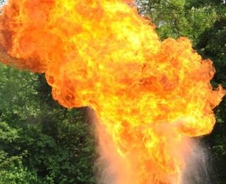 Fettexplosion ⎪Foto: D. Bürk