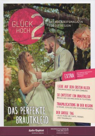 Glüch hoch 2 Das Hochzeitsmagazin für die Region