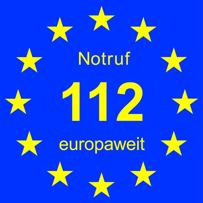 Europaweiter Notruf 112